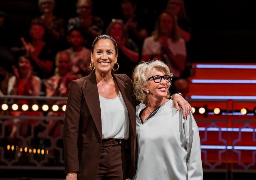 Renée Nyberg and Karin Laserow